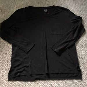 Old Navy Long Sleeve Boyfriend Tee